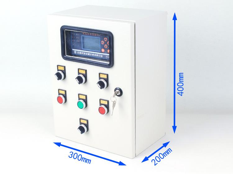 定量加料控制仪配套仪表箱的外形尺寸图