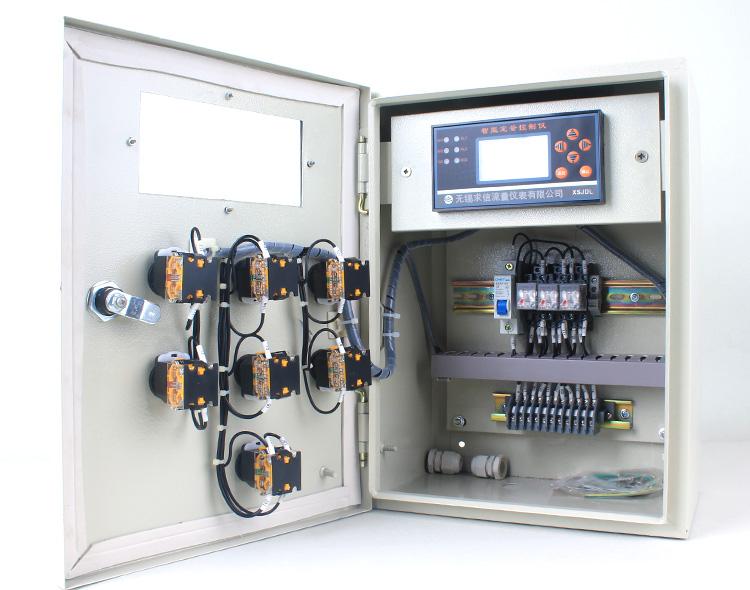 定量加料控制系统内部接线示意图
